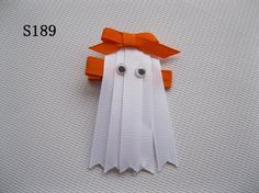 ghost hair bow