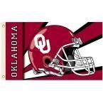 Ncaa 3 ft. x 5 ft. Helmet Oklahoma Flag
