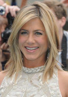 Jennifer Aniston Long Layered Bob Hairstyles
