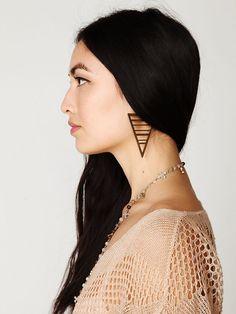Earring.