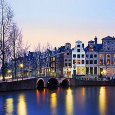 Save your pennies! Amsterdam is as expensive as it is beautiful. Photo courtesy of artsyamber1 on Instagram.