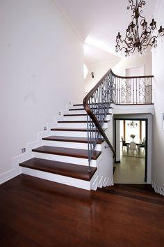 schody wewnętrzne drewniane na beton - Szukaj w Google