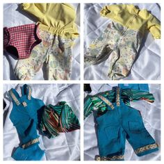 Doll clothes for night and day to Lillan