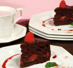 Raspberry Ganache Cake from Ani Phyo's Raw Food Desserts