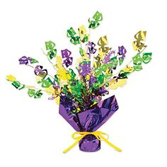 Mardi Gras Gleam N Burst Centerpiece Party Accessory 1 count 1Pkg * Want to know more, click on the image.