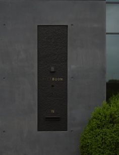 piet boon studio sign Wayfinding Signage, Signage Design, Post Bus, Sign System, Boundary Walls, Living Environment, Environmental Design, Architecture Details, Entrance