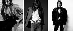 High waist pants Online Fashion Magazines, High End Fashion, Beauty Photography, Leather Jacket, Luxury, High Waist, Pants, Jackets, Fall