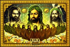 The 12 Imams are the Carriers of the secrets of God, which carries the Spiritual power to lead us to Muhammad (SAW) who is nothing but a Divine Light among creation. Such a status is known as the Quran-An-Natek or the Talking Quran. They are the source of Truth and the very path to Salvation and Freedom