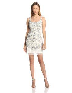 Amazon.com: Adrianna Papell Women's Beaded Cocktail Dress: Clothing