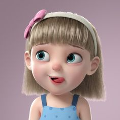 school Cartoon Girl Rigged rig rigged setup cartoon, formats FBX, MA, MEL, ready for animation and other projects Cute Cartoon Pictures, Cute Cartoon Girl, Baby Cartoon, Cartoon Pics, Cartoon Drawings, Cute Drawings, Cartoon Family, Cartoon Illustrations, Art Anime Fille