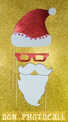 Atrezzo para navidad, pon un toque divertido a tus fiestas navideñas con nuestro atrezzo. info@donphotocall.com