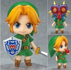 The Legend of Zelda Limited-Edition Link Majoras Mask 10cm Action Figure