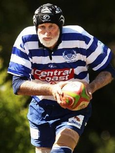 Senior Rugby, hope I'm still able to walk at that age!!!