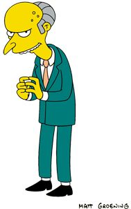 """This popular British website compared Managing Partner, Howard Borlack, to """"Mr_Burns"""" from the Simpson's cartoon.  They referred to Borlack as """"creepy"""" when he posed next to the fingerscanner.  Borlack stopped giving media interviews after this website posted this blog and picture on Nov. 6, 2012.  What do you think?"""