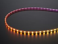 NEW PRODUCT - Adafruit Mini Skinny NeoPixel Digital RGB LED Strip - 60 LED/m - BLACK