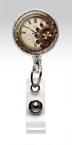 Hey, I found this really awesome Etsy listing at https://www.etsy.com/listing/108734421/steampunk-watch-retractable-id-badge