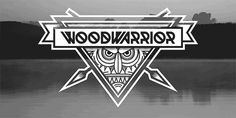Woodwarrior Typeface by Anton Bohlin, via Behance