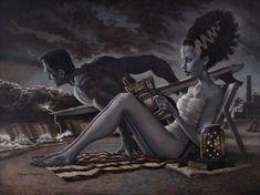 The Bathers by DamianFulton