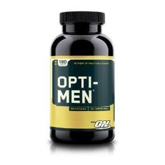 Amazon.com: Optimum Nutrition Opti-Men Multivitamins, 180-Count: Health & Personal Care