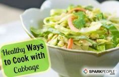 11 Healthy Cabbage Recipes via @SparkPeople