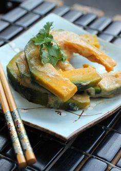 Autumn Kabocha with Miso | Food Gal