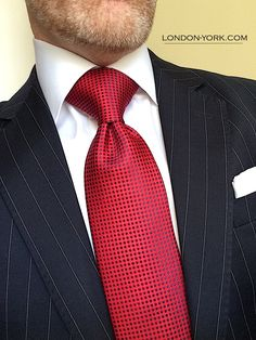 London York Executive Knot Tie: $25 OFF through July 4, 2018 on this tie and 19 other items. London York Executive Attire / www.london-york.com