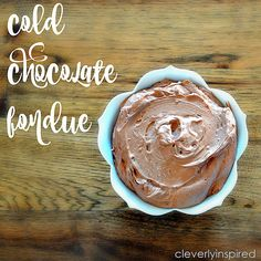 cold chocolate fondue @cleverlyinspired (3)