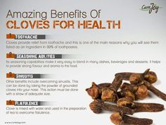 Cloves for amazing benefits