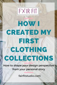 In this video presentation about how I created my first clothing collections, you will learn:   1. How your unique voice really comes down to your personal story, and key takeaways that you can use in your personal sewing and design practice too.
