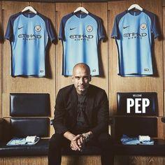 Welcome to Manchester  #MCFC #PepGuardiola