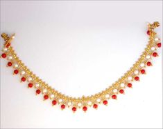 Gold Neckles Designs For Women.