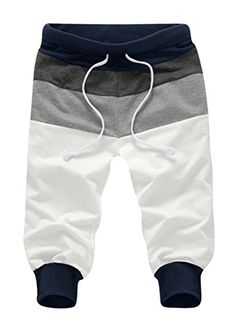 Minibee Men's Casual Harem Shorts Jogger Pant Two Sid. Harem Shorts, Jogger Shorts, Men's Shorts, Sewing For Kids, Baby Sewing, Baby Boy Outfits, Kids Outfits, Toddler Boys, Baby Kids