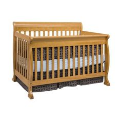 Davinci Kalani 4-in-1 Convertible Crib With Toddler Rail - Espresso