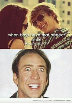 When boys have that perfect smile
