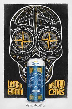 Corona Beer: Skull