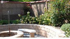 Retaining wall, raised bed /Támfal előre gyártott kerítés elemekből, kiemelt ágyás