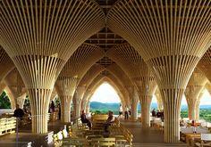 Las construcciones con bambú ganan terreno en México - Simón Vélez
