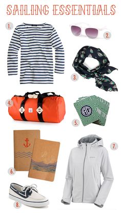 575d7a3aa5 sailing essentials--for all that sailing I do Back To School Bags