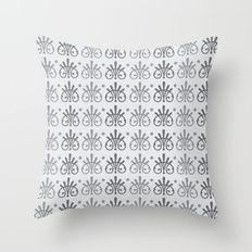 Vintage Victorian Pattern Throw Pillow