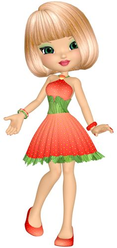 "Photo from album ""Куколки on Yandex. Girl Cartoon, Cute Cartoon, Cute Clipart, Princesas Disney, Cute Dolls, Cute Illustration, Big Eyes, Belle Photo, Beautiful Dolls"
