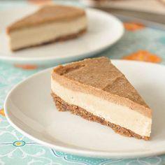 Salted Caramel Cheesecake – Gluten-free, Vegan + Sugar-free {Guest Post by @spabettie}