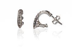 Ishtar Silver Earrings by Andy Lifschutz