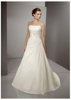 Vestidos de novia corte a magníficos escote recto Bridesmaid Dresses 3db455ea8a1