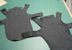 Dog Sweaters. Get measurements from the sweater he already has, and add collar as shown here.