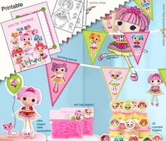 Lalaloopsy Printable Birthday Kit