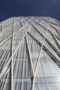 Torre Diagonal Zero Zero - Barcelona, Spain; designed by Enric Massip; photo by rick ligthelm, via Flickr