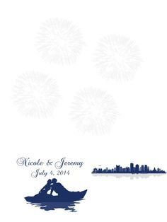Fingerprintguestbooktemplate fingerprint tree template free thumbprint fingerprint fireworks wedding guest book alternative guest sign in pronofoot35fo Image collections