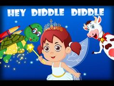 Hey Diddle Diddle | Nursery Rhyme Songs with Lyrics | Poems for children in english - YouTube