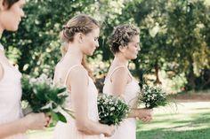 Léan & Janina's Sophisticated Farm Wedding Bridesmaid Dress Styles, Brides And Bridesmaids, Bridesmaid Bouquet, Farm Wedding, Wedding Blog, Wedding Ideas, Wedding Things, Trendy Wedding, Boho Wedding