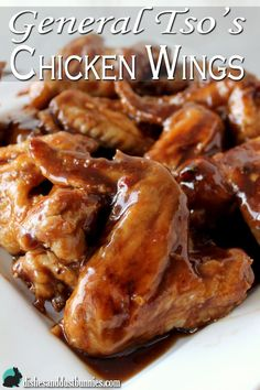 Making your own General Tso's chicken wings at home is simple and inexpensive. You won't believe these are not take out!